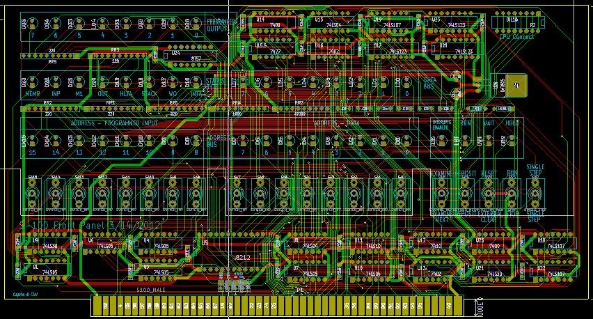 KiCad Routed board